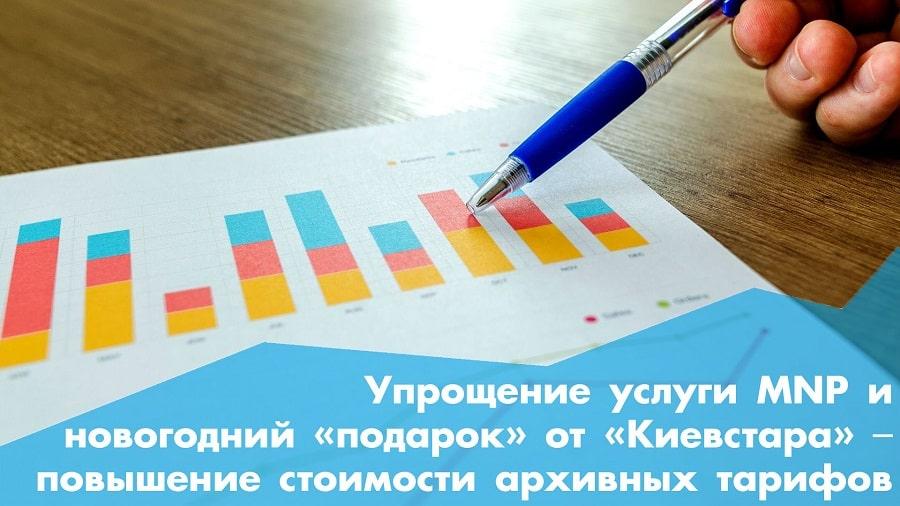 Упрощение услуги MNP и новогодний «подарок» от «Киевстара» ‒ повышение стоимости архивных тарифов: телеком-итоги недели