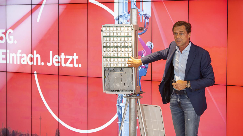 Немецкий Vodafone запустил 5G-сеть в ряде городов